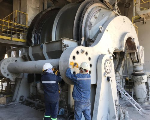 Cement Mill 3 Revision and Horomill 1 Gear Replacement  |  Selçuklu - Konya / Turkey